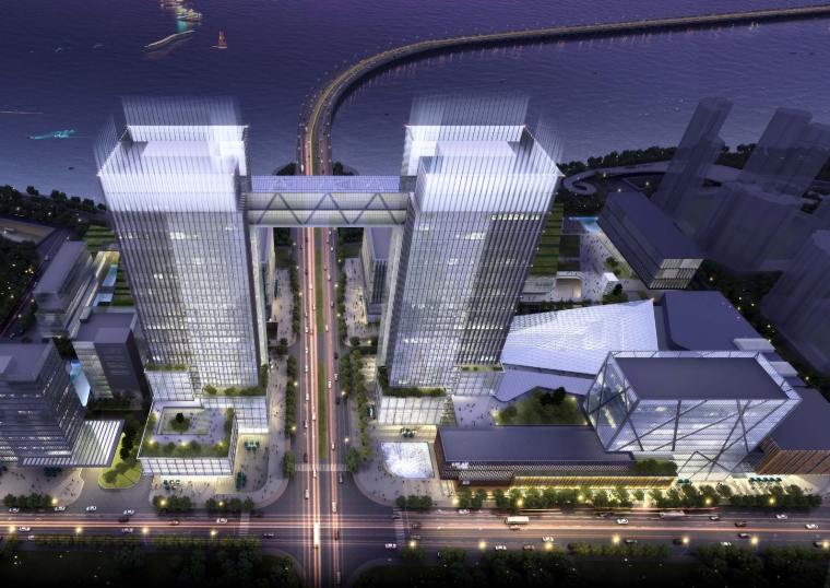 [杭州]RTKL-临安滨湖新天地商业核心区概念方案设计文本214P