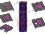 巨型框架与框筒双重结构体系设计