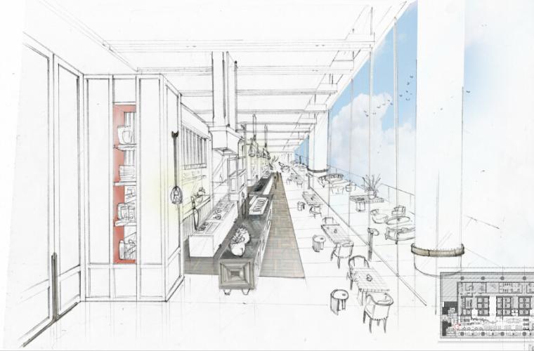 [珠海]洲际酒店中餐厅&特色餐厅 设计方案(原版PDF+高清JPG) 175M