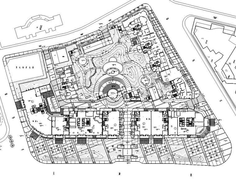 [上海]某耀江国际居住区景观设计全套施工图(包含+120个CAD)-标高设计