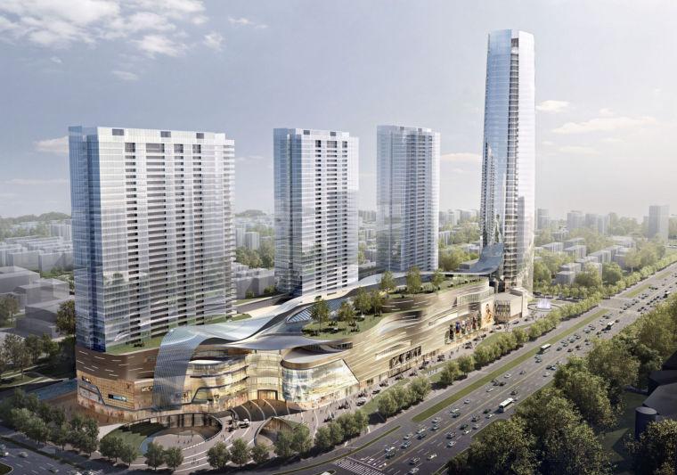 [浙江]杭州大型高端商业综合体建筑设计