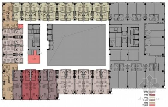 [成都]高新区时尚现代风格酒店室内装修设计方案