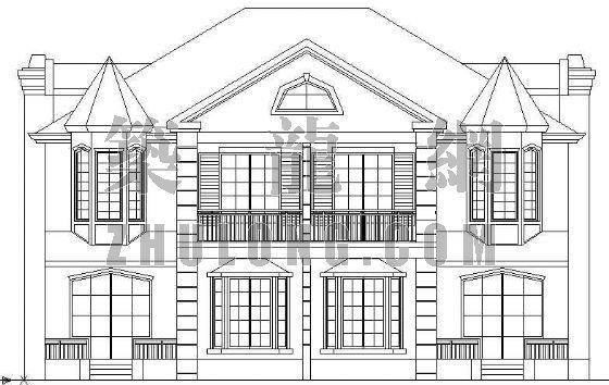 一套较完整的欧式别墅施工图