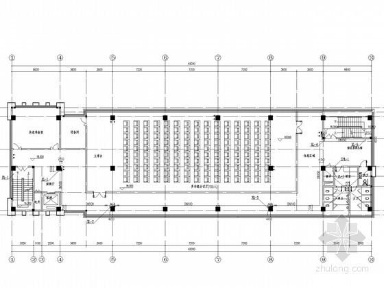 [湖南]学校综合楼建筑给排水施工图