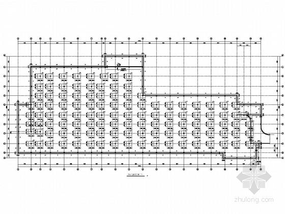 187个车位地下停车库结构施工图(含建筑图)