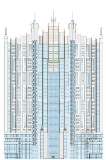 [淮安]某三十一层酒店公寓+商业综合体方案文本(含CAD)