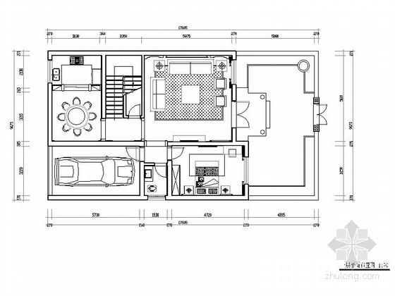 经典中式三层别墅室内装修图(含效果)