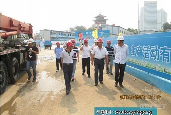 大型国企建筑工程主体结构优秀施工图片45张