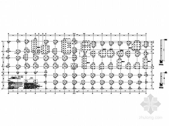 [江苏]17层与15层钢筋混凝土剪力墙结构福利院结构施工图