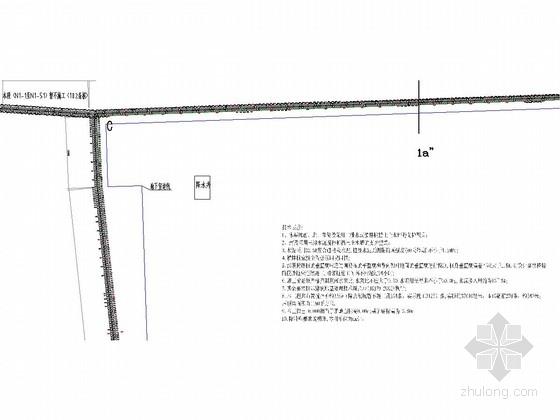 [广东]深层水泥搅拌桩挡土止水墙基坑支护施工图(附计算书)