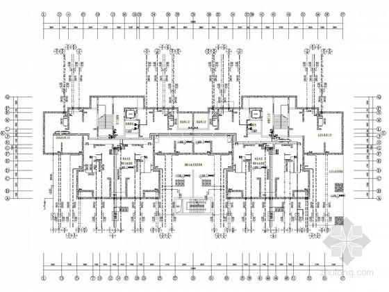 34层住宅楼给排水施工图(压力排水)
