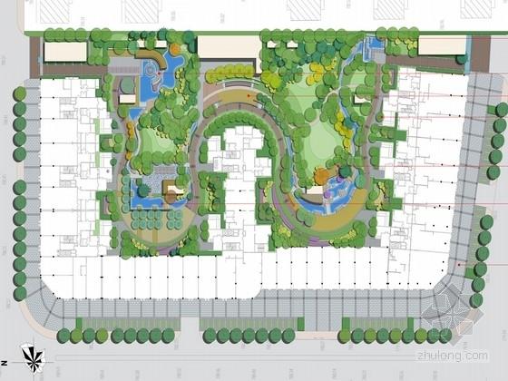 [太原]宁静山水居住区景观规划设计方案(北京著名公司)