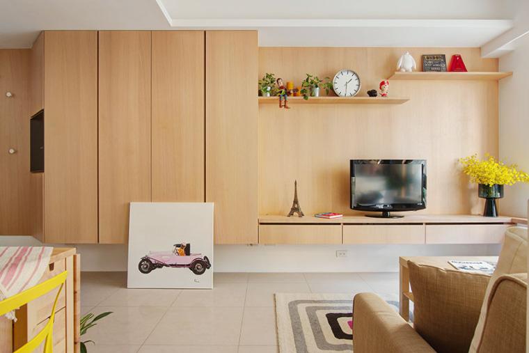 台湾:丰富靓丽的灵动公寓_3