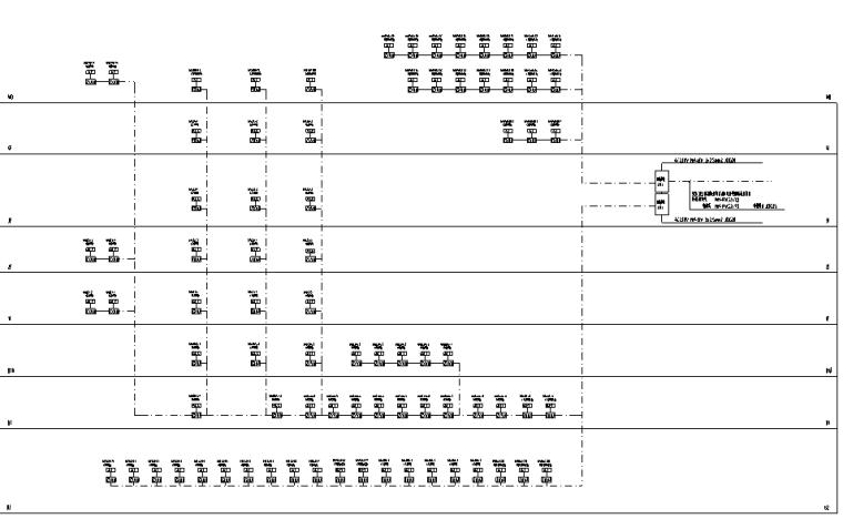 重庆高层商业综合体强电施工图
