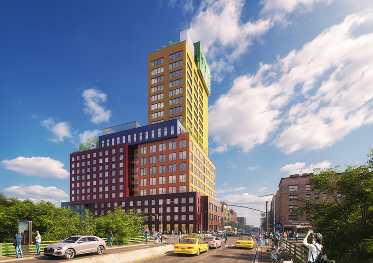 "MVRDV第一个美国项目""RadioTower&Hotel"