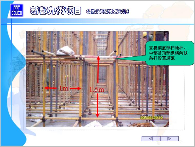 知名企业模板安装技术交底培训讲义-模板安装技术交底