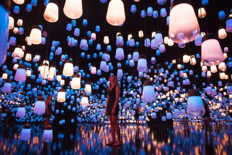 北京未来游乐园里的展览会赏析