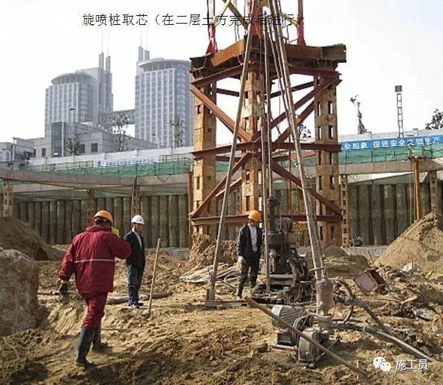 建筑施工员的详细记录:高层大楼施工现场过程图