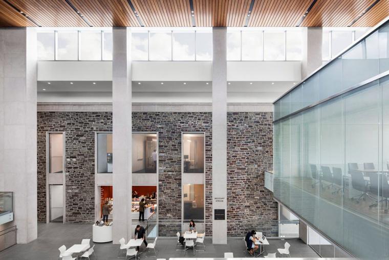 哥特式学术建筑普林斯顿大学校园内部实景图 (9)