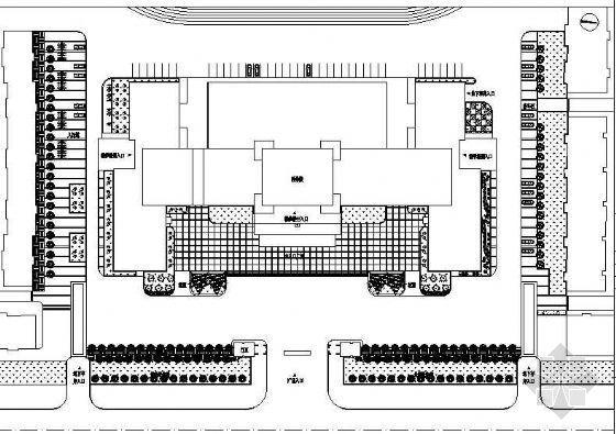 大学汇文广场施工图