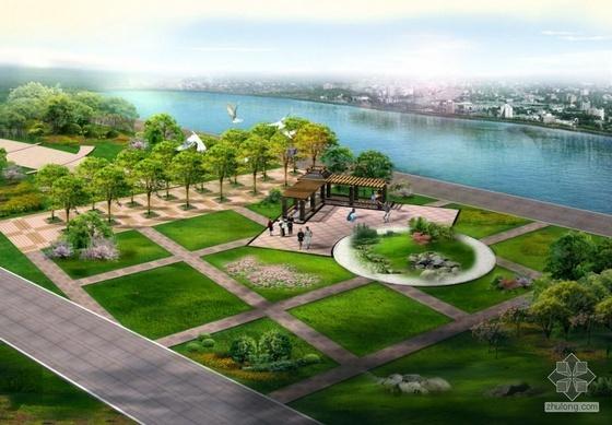 某滨河公园景观设计文本