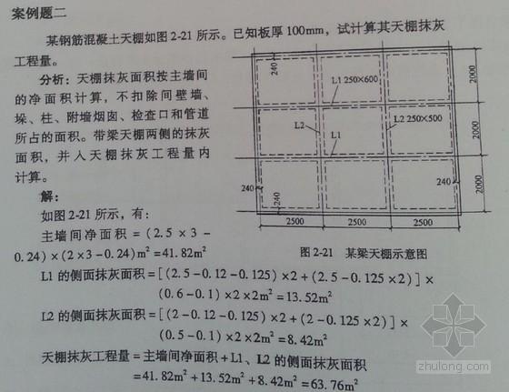 [全国]2013年土建造价员考试培训押题讲义(定额换算 计价实例)