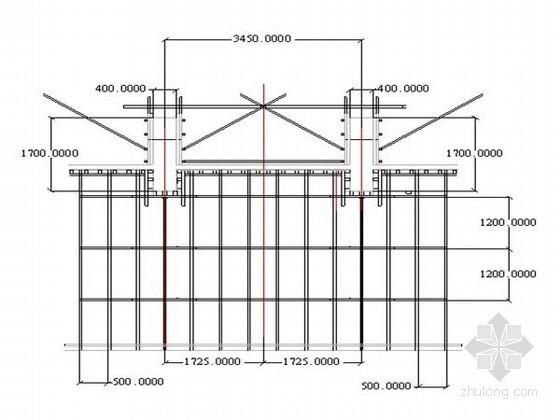 [陕西]剪力墙结构 框架结构教学实验楼模板工程施工方案(镜面竹胶板 钢模板)