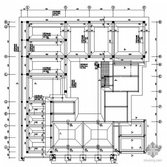 深圳某5层砌体结构综合楼加固改造施工图