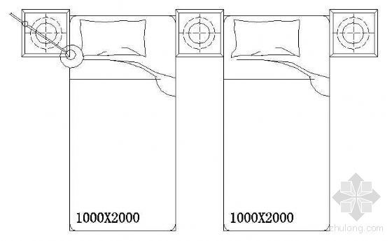 床平面CAD图块5