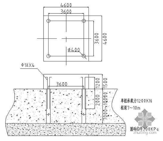 广西某学院塔吊安装施工方案(QZT5013B 有计算)