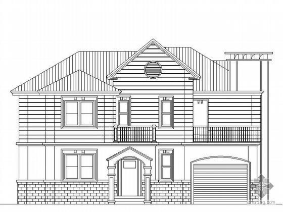 某三层别墅建筑设计方案