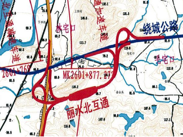 PPP模式金丽温高速互通工程实施性施工组织设计192页(拼宽桥路)