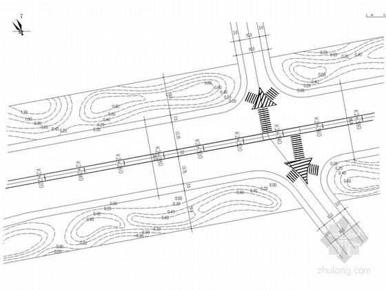 [长沙]学士路道路工程绿化施工图