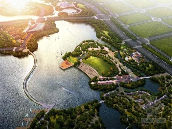 [郑州]西部生态休闲滨水景观规划设计方案