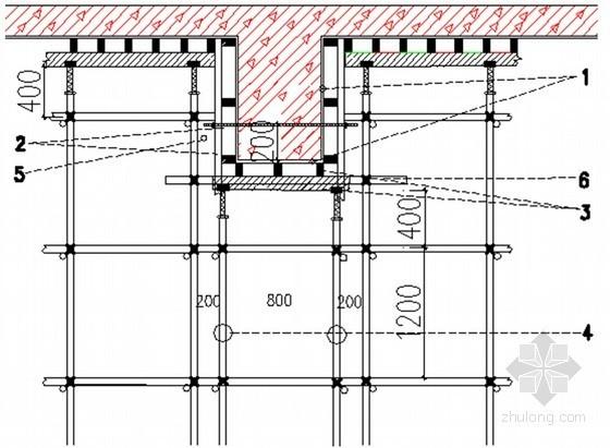 [北京]框架结构办公楼工程超高模板支撑专项施工方案(118页 多图)