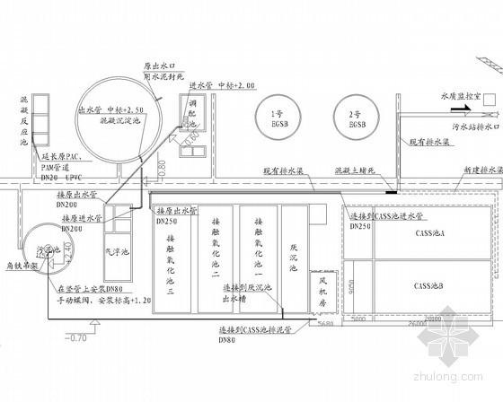 [河北]食品厂污水处理改造工程施工图