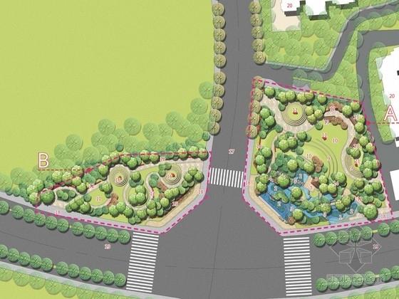 [四川]环线道路节点公园设计方案