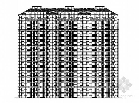 [江苏]高层框剪结构单元式住宅建筑施工图