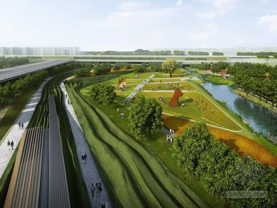 [西安]特色文化创意湿地公园设计方案