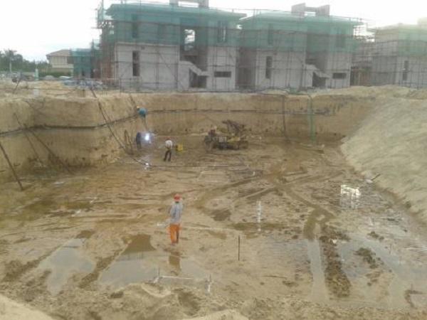 基坑开挖支护降水施工方案