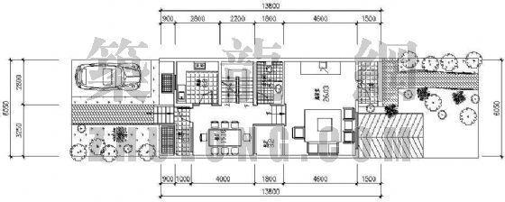 别墅户型平面图