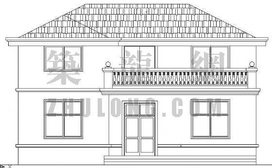 某乡村别墅建筑施工图