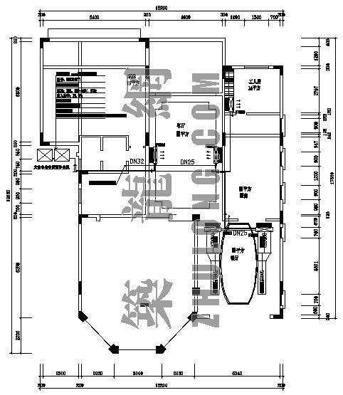 某别墅VRV空调设计平面图