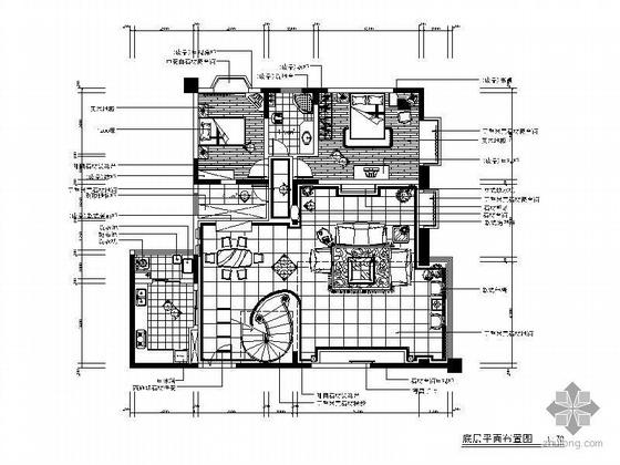 精品欧式跃层室内设计图