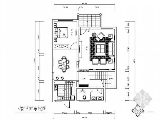 某三层经济型别墅室内装修图(含效果)