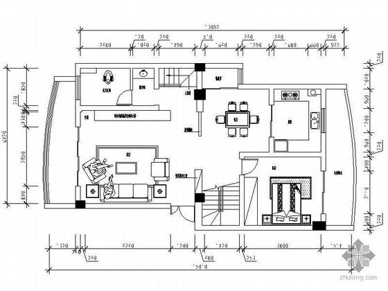 精选跃层设计图(含效果图及模)