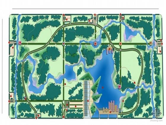 淄博公园规划设计方案(二)