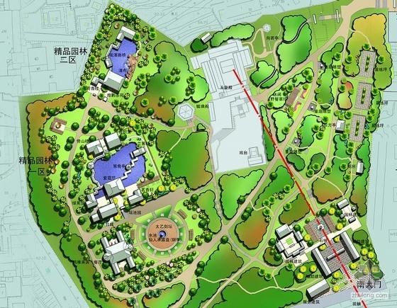 烟台市公园规划设计方案