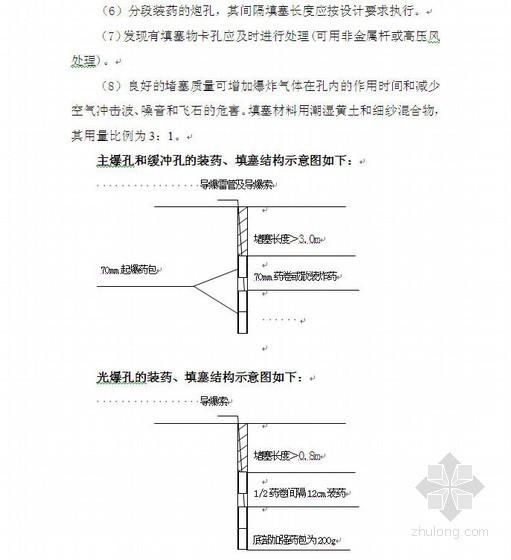 贵州高速公路土石方开挖路堑开挖爆破设计说明书