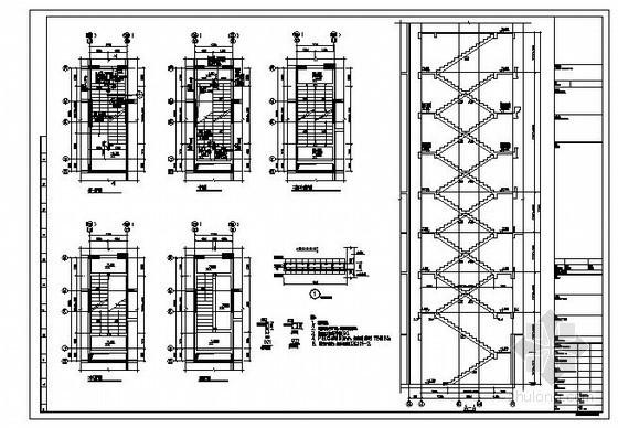 湖南某25层剪力墙住宅结构设计图